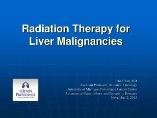Radiation Treatment For Liver Cancer