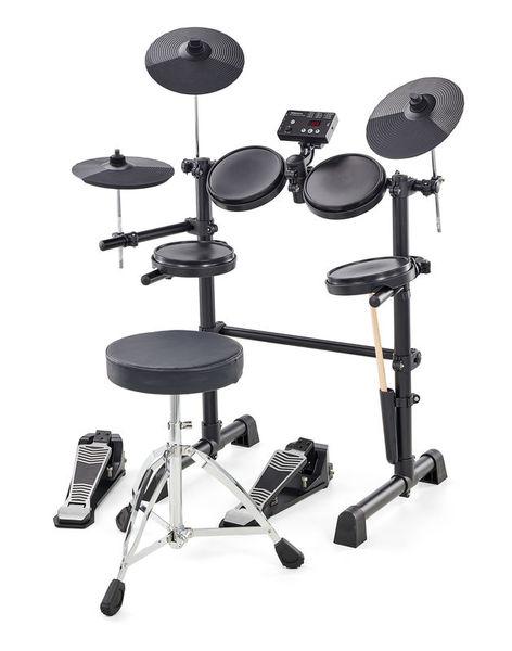 millenium hd 120 e drum set