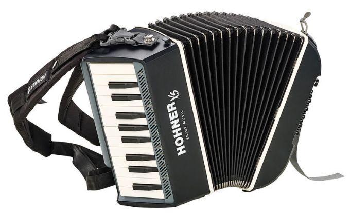 Hohner Xs Accordion Piano Grey Thomann Uk