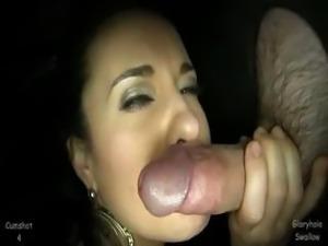 milf swallow gag
