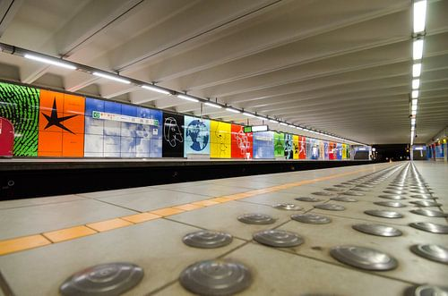 Metrostation Brussel
