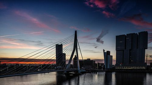 Rotterdam in the early morning