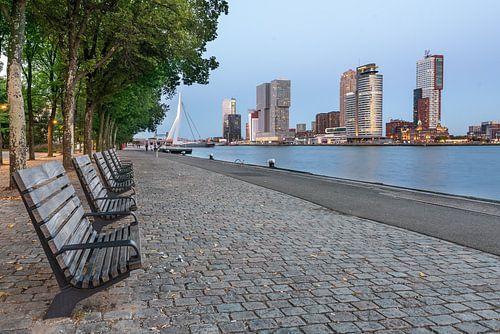 Rotterdam Kop van zuid (blauwe uurtje)