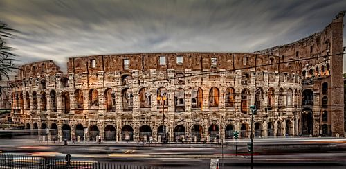 City Lights - Colosseum HDR