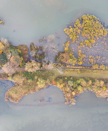 Luchtfoto Nationaal Park De Biesbosch