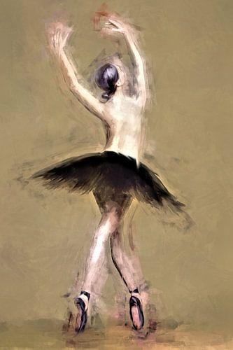 Ballerina op spitzen