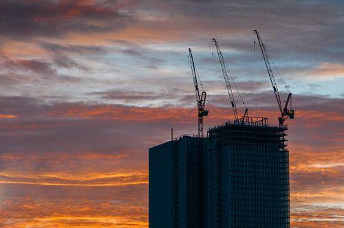 Rotterdam - De Rotterdam in aanbouw