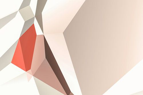 Warme Abstracte Polygons