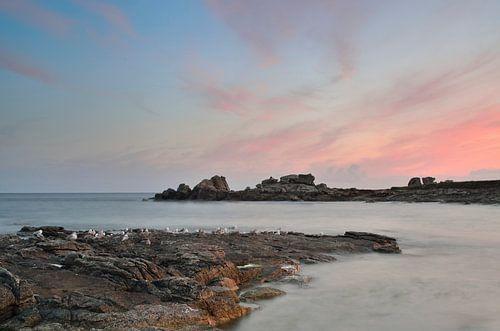 Zeezicht in Bretagne