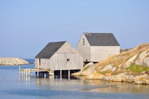 Vissershuisjes in Peggy's Cove