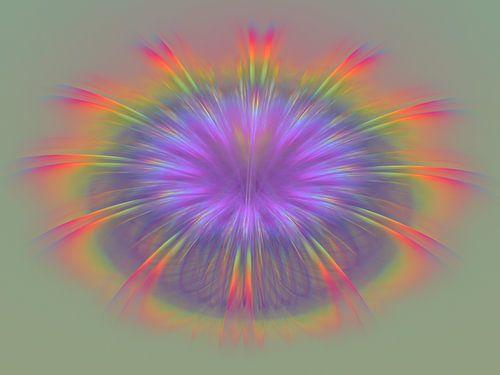Regenboog van veren