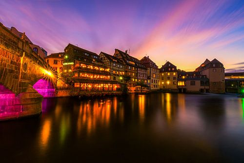 Zonsondergang in Straatsburg