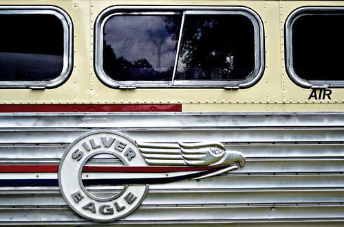 Silver Eagle bus detail
