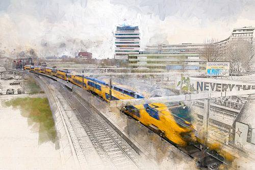 Hofplein trein