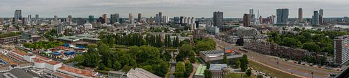 Skyline Rotterdam panorama