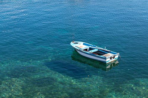 Boot in Sithonia, Chalkidiki, Griekenland