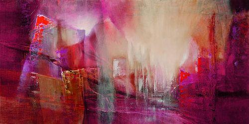 Transparenz: rot trifft magenta und pink