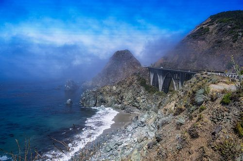 Highway One Californië Big Sur