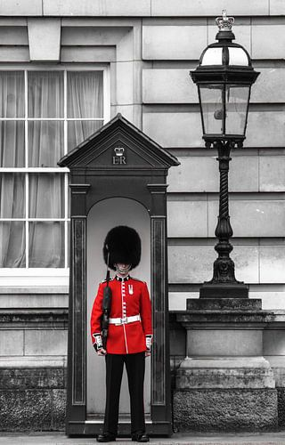 London - the guard