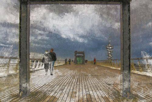 Zondagmiddag wandeling over de Scheveningse Pier