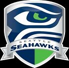 Seattle Seahawks Shield Logo Vinyl Decal / Sticker 5 sizes!!