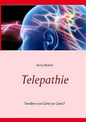 NEW Telepathie by Heinz Duthel Paperback Book (German) Free Shipping