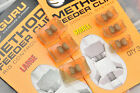 Guru Method Feeder Clips NEW Carp Coarse Match Fishing  *Both Sizes Available*