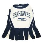Seattle Seahawks NFL Cheerleader Dog Pet Dress Outfit Sizes XS-M