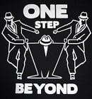 Ringer T Shirt Madness ONE STEP BEYONDSKA2 ToneSizes S 2XLChoice Blk White