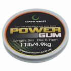 Gardner Tackle Power Gum Clear *7lb, 11lb or 22lb Available*