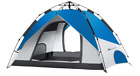MOON LENCE Pop Up Tent Family Camping Tent 4 Person Tent Portable Tent Automatic