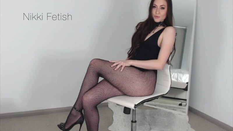 Nikki Fetish – chastity jerk off continued
