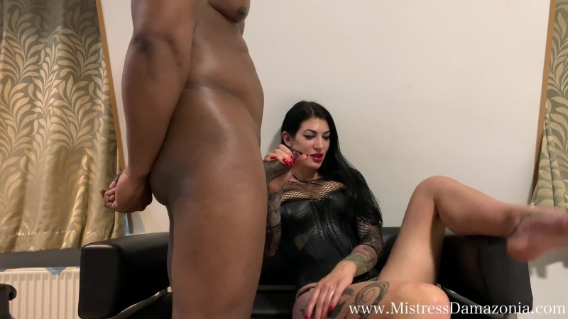 Jerk it like I do it – Mistress Damazonia