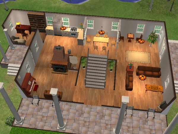 Mod The Sims House From The Notebook