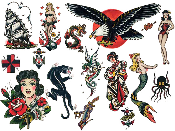 Sailor Jerry Vintage Tattoos that Really Stick!