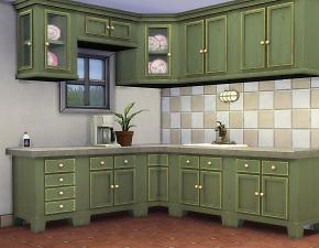 Mod The Sims Country Kitchen