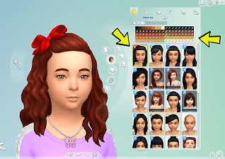Mod The Sims Hair Bow Freedom Cats Amp Dogs Child Hair