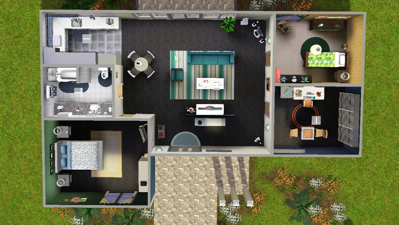 Mod The Sims TS4 To TS3 Vista Quarry No CC