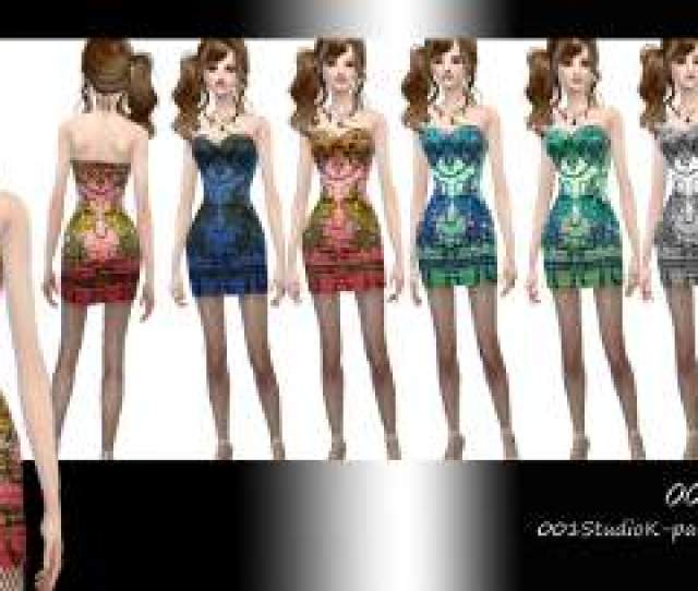 Sims  Custom Content Clothes