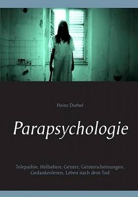 Parapsychologie [GER] by Heinz Duthel
