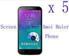 5 Clear Glossy Matte Screen Protector Film Cover Skin F Amoi Haier Mobile phone