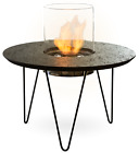 Outdoor Fire Table Round on Bioethanol by Planika Fires