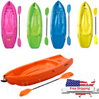 Kids 6' Kayak with Paddle 132 lb Capacity Lifetime Youth Canoe Boat Wave