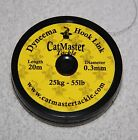 Catmaster Dyneema Braided Hooklink *All Breaking Strains* NEW Catfish Fishing