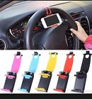 Universal Accessory Car Steering Wheel Cell Phone Flexible Phone Holder