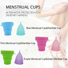 Menstrual Cup Medical Grade Soft Silicone Women Period Hygiene Reusable Cups