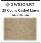 28 Count Cashel Linen by ZWEIGART ** You Choose Cut and Color **