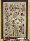 SPRING QUAKERS ROSEWOOD MANOR CROSS STITCH SAMPLER CHART