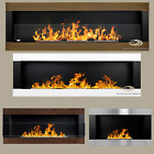 BIO ETHANOL FIREPLACE LINEAR 1400 1200 900 650 COLOURS ECO ALCOHOL BURNER INSERT