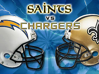 Image result for New Orleans Saints vs. San Diego Chargers